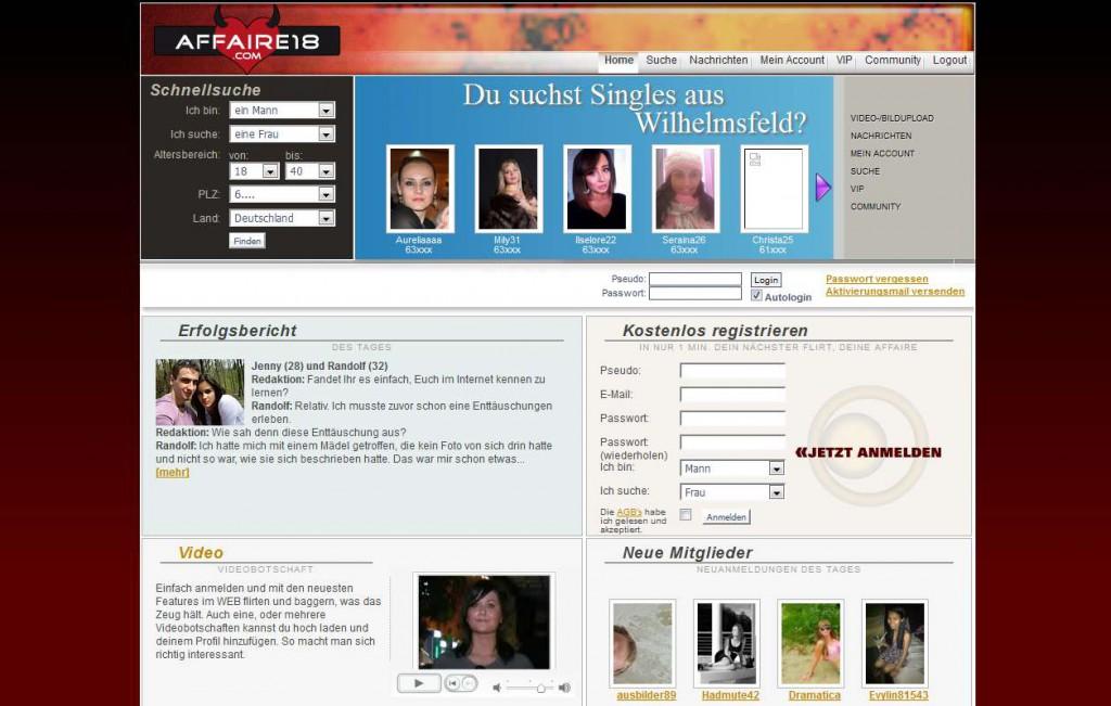 01 Affaire18_com Startseite