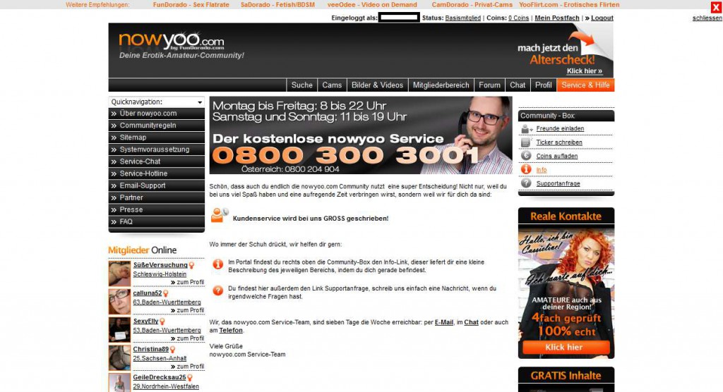 08 nowyoo_com Service und Hilfe
