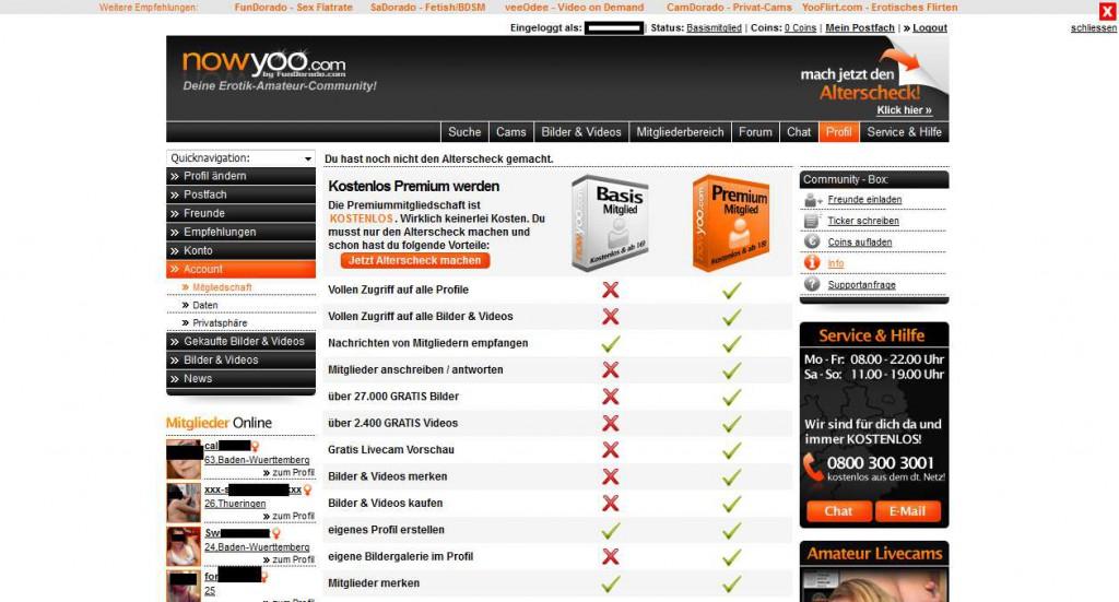 12 nowyoo_com Mitgliedschaften