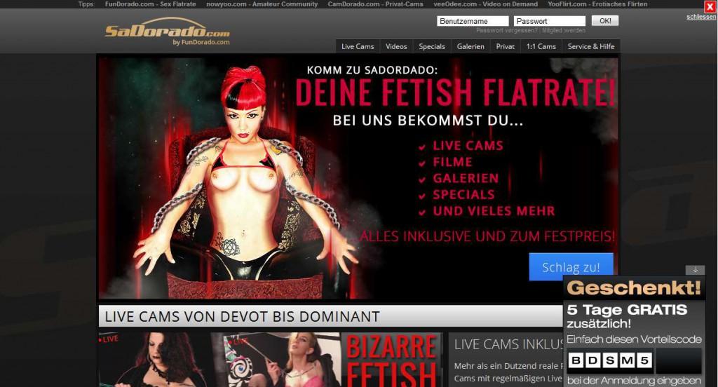 Werbung Festish Flatrate