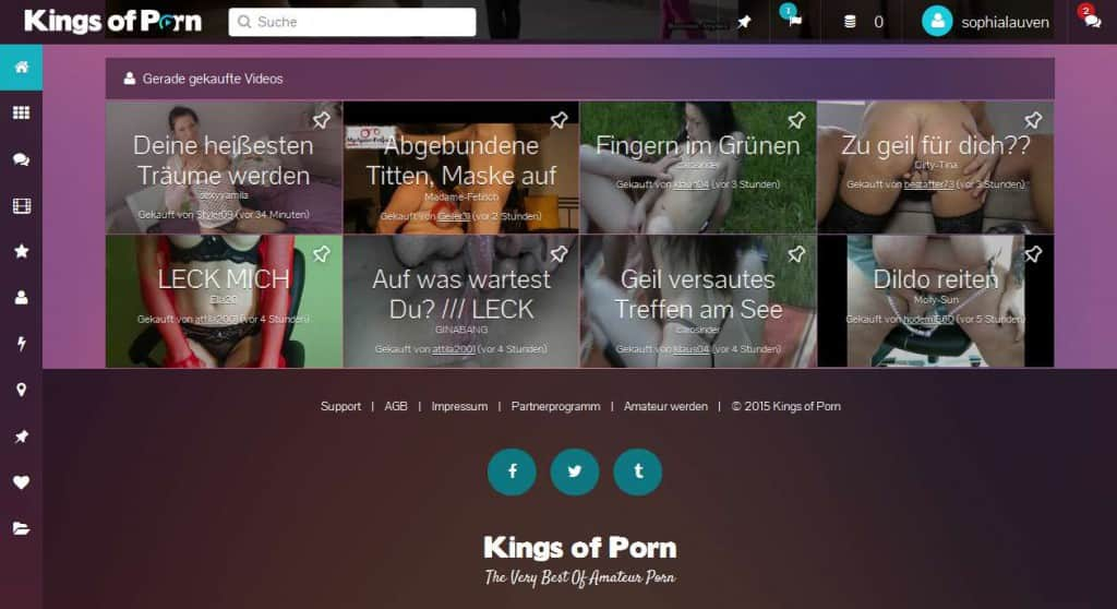 19-kingsofporn-com Startseite Gerade gekaufte Videos