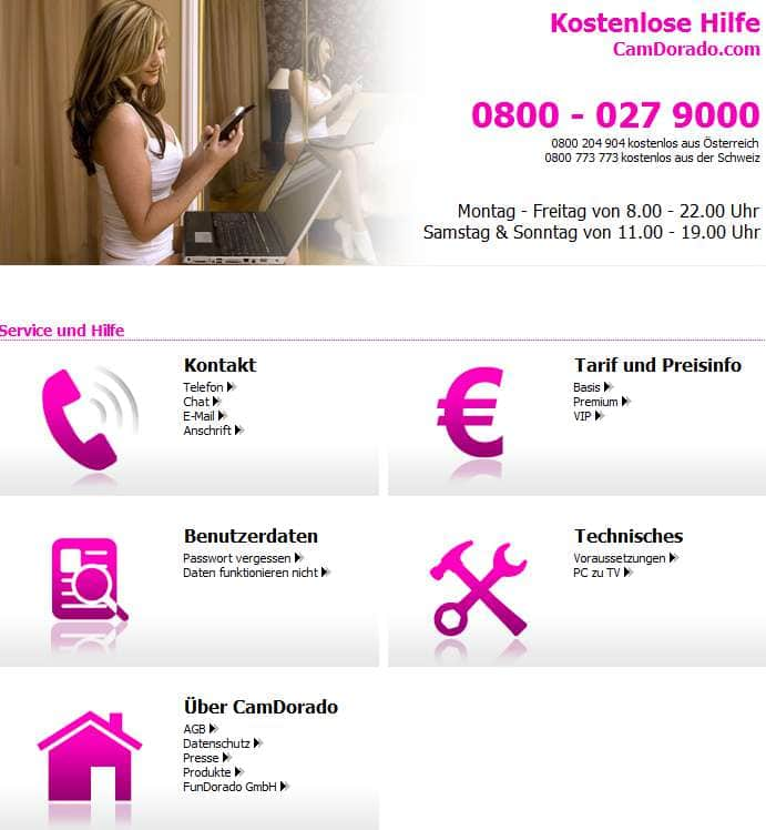 camdorado_com-Kundensupport