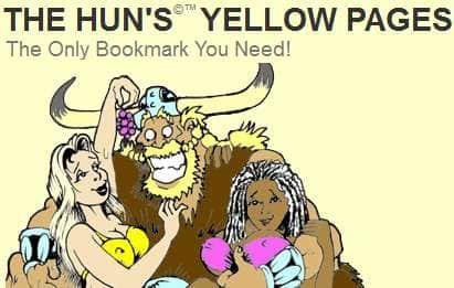 the hun yello page