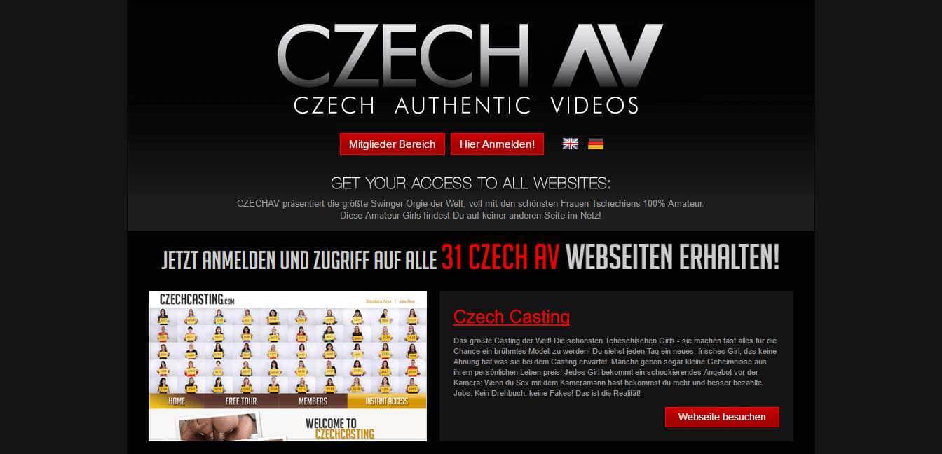 czechav.com Startseite