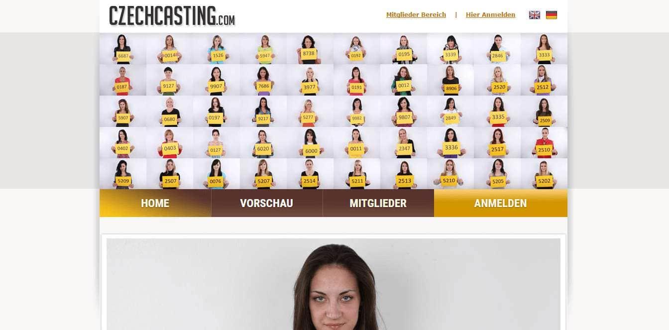 czechcasting.com Startseite