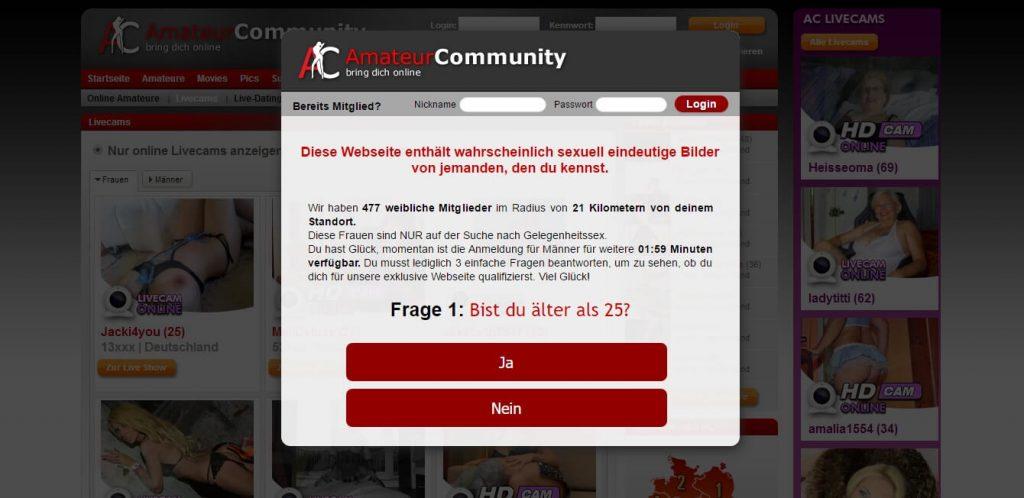 amateurpages-de Startseite
