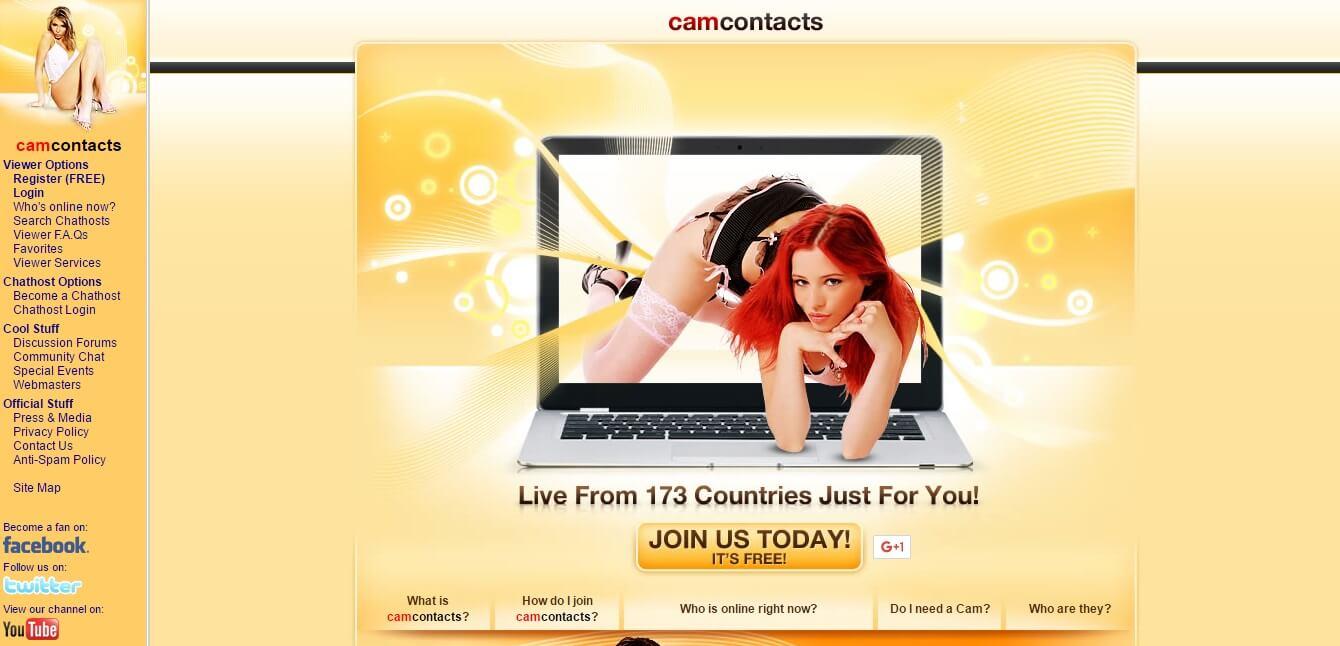 Camcontacts.com seriös? Erfahrungen & Test lesen!