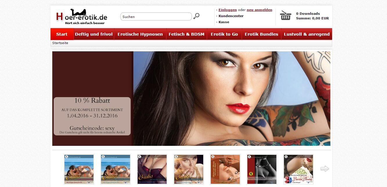 Hoer-erotik.de seriös? Erfahrungen & Test lesen!
