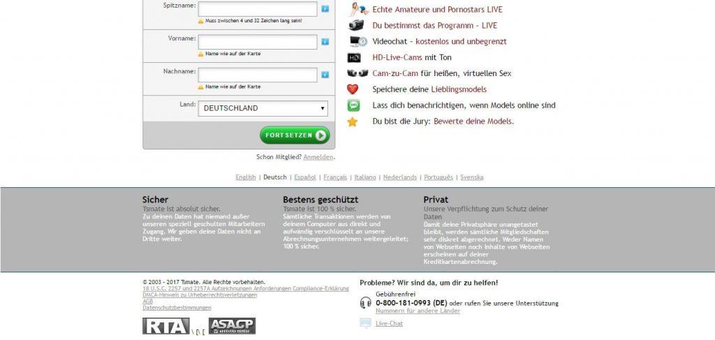 tsmate-com Seriosität und Sicherheit