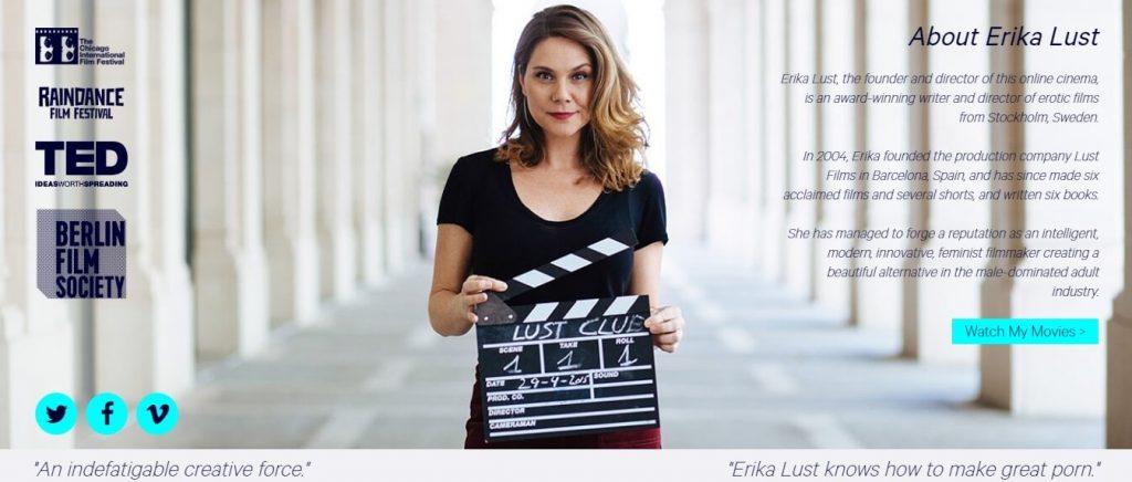 lustcinema-com Erika Lust