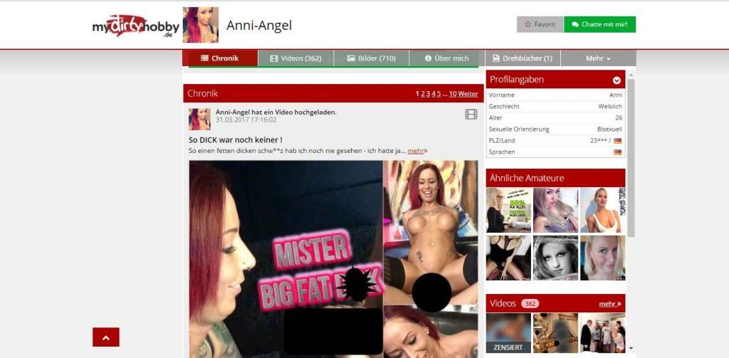 Anni-Angel mydirtyhobby-de Videos