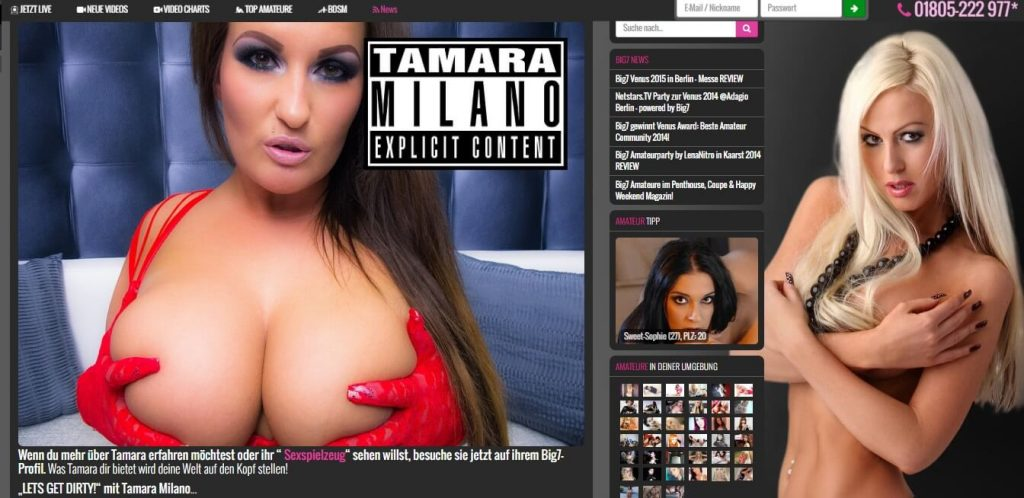 TamaraMilano Big7-com Lets get dirty