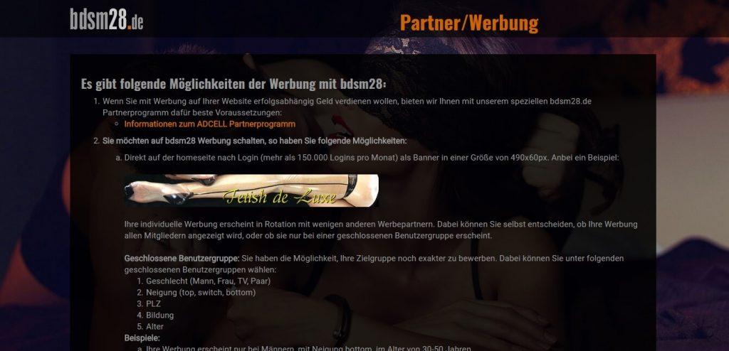 bdsm28-de Partner und Werbung