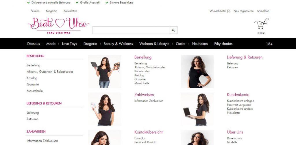 beate-uhse-de Kundenservice