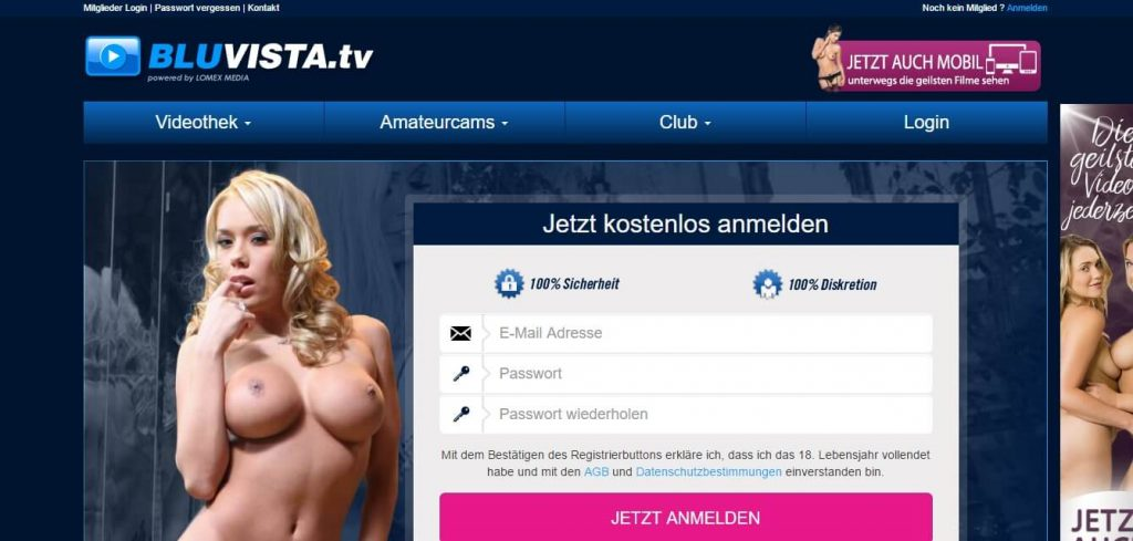 bluvista-tv-club Club Registrierung