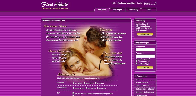 first affair kündigen