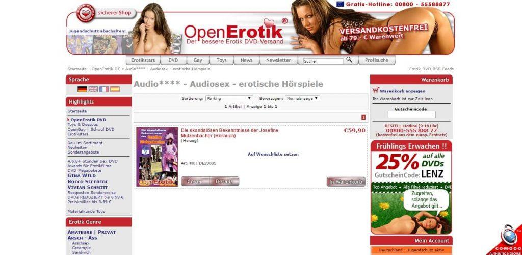 Sexfilme Website